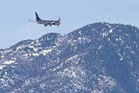 C-GKWJ @ KPSP - WestJet Boeing 737-8CT, on the RNAV approach RWY 31L KPSP. - by Mark Kalfas