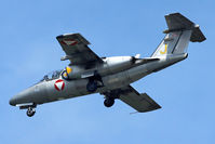 1110 @ LOWL - Austrian Air Force Saab 105OE final approach in LOWL/LNZ - by Janos Palvoelgyi