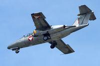 1129 @ LOWL - Austrian Air Force Saab 105OE final approach in LOWL/LNZ - by Janos Palvoelgyi