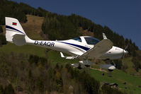 D-EAQR @ LOWZ - Short Finals to Rwy 08, dealing very well with the gusty cross-winds - by Alexander Gerzabek