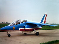 E174 - Photograph by Edwin van Opstal with permission. Scanned from a color slide. Patrouille de France No. 7 - by red750