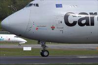 LX-YCV @ ELLX - Boeing 747-4R7F - by Jerzy Maciaszek