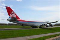 LX-VCB @ ELLX - Boeing 747-8R7F - by Jerzy Maciaszek