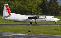 OO-VLN @ ELLX - lined up for departure - by Friedrich Becker