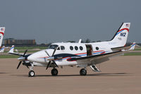 N12 @ AFW - FAA King Air at Alliance Airport - Fort Worth, TX