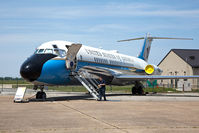 73-1682 @ DOV - This VC-9C transported America's top leadership from 1975 to 2011. It mostly served as Air Force Two for Vice Presidents Walter Mondale, George H.W. Bush, Dan Quayle, Al Gore, and Dick Cheney. It also served as AF1 for flights to smaller airports. - by Dean Heald