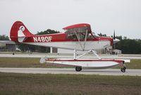 N480F @ LAL - Aviat A-1B