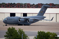 04-4129 @ NGU - USAF C-17A Globemaster III 04-4129 of the 305th AMW / 514th AMW based at McGuire AFB (Joint Base McGuire-Dix-Lakehurst), NJ. Seen here parked on the ramp at Naval Station Norfolk. - by Dean Heald