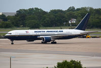 N768NA @ NGU - North American Airlines N768NA parked on the ramp at Naval Station Norfolk. - by Dean Heald