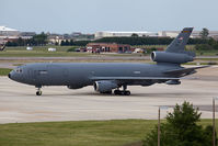 85-0034 @ NGU - USAF KC-10A Extender 85-0034 of the 305th AMW / 514th AMW based at McGuire AFB (Joint Base McGuire-Dix-Lakehurst), NJ. Seen here parked on the ramp at Naval Station Norfolk. - by Dean Heald