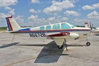 N6672B @ BOW - At Bartow Municipal Airport , Florida