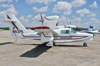 N43PA @ BOW - At Bartow Municipal Airport , Florida