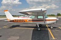 N6490L @ GIF - At Gilbert Airport , Winter Haven , Florida - by Terry Fletcher