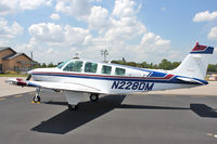 N228DM @ GIF - At Gilbert Airport ,Winter Haven , Florida