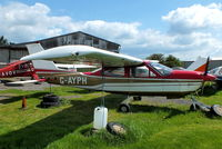 G-AYPH @ EGBD - privately owned - by Chris Hall