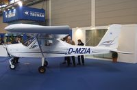D-MZIA @ EDNY - Tecnam P92 Echo Classic at the AERO 2012, Friedrichshafen - by Ingo Warnecke