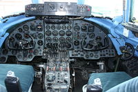 G-OPAS @ EGHH - Cabin view of Viscount At Bournemouth Aviation Museum