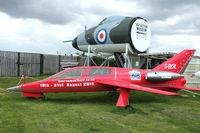 G-BKRL @ EGHH - At Bournemouth Aviation Museum