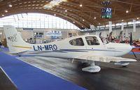 LN-MRO @ EDNY - Cirrus SR20 G2 at the AERO 2012, Friedrichshafen - by Ingo Warnecke