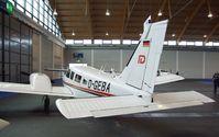 D-GEBA @ EDNY - Piper PA-34-200T Seneca II at the AERO 2012, Friedrichshafen - by Ingo Warnecke