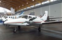 D-GEBA @ EDNY - Piper PA-34-200T Seneca II at the AERO 2012, Friedrichshafen - by Ingo Warnecke