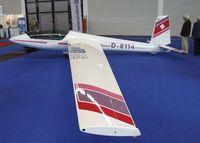 D-8114 @ EDNY - Marganski Swift S-1 at the AERO 2012, Friedrichshafen - by Ingo Warnecke