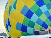 N1517H @ LAL - The wind was too strong to allow the full inflation and mass take-off of the balloons at 2012 Sun n Fun