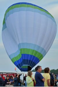 N2146B @ LAL - The wind was too strong to allow the full inflation and mass take-off of the balloons at 2012 Sun n Fun