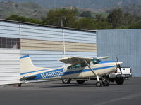 N4809E @ SZP - Cessna 180K SKYWAGON, Continental O-470-U 230 Hp - by Doug Robertson