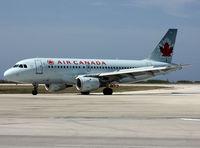 C-GBIN @ TNCC - Air Canada Airbus A 319-114 (845) @ TNCC / CUR - by John van den Berg - C.A.C