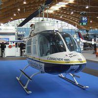D-HEDB @ EDNY - Bell 206B JetRanger III at the AERO 2012, Friedrichshafen - by Ingo Warnecke