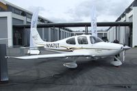 N147GT @ EDNY - Cirrus SR22 G2 at the AERO 2012, Friedrichshafen - by Ingo Warnecke