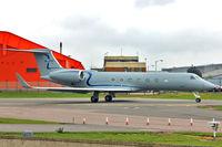 M-JIGG @ EGGW - Gulfstream Aerospace GV-SP (G550), c/n: 5346 at Luton
