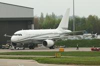 LX-GJC @ LAL - 2007 Airbus 318-112CJ (Elite), c/n: 3100 at Luton