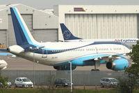 CS-TFY @ EGGW - Masterjet Aviacao Executiva 's 2002 Airbus A320-232, c/n: 1868 at Luton