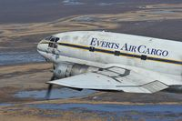 N7848B @ AIR TO AIR - Everts Air Cargo Curtiss C46