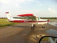 N4715B @ 7M7 - Cessna 152 N4715B Parked at Piggott Muni Airport in Arkansas 7M7 - by Jeff Puckett