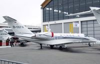 D-CEFA @ EDNY - Cessna 525C CitationJet CJ4 at the AERO 2012, Friedrichshafen - by Ingo Warnecke