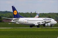 D-ABXW @ EDDS - Boeing 737-330 - by Jerzy Maciaszek