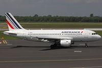 F-GRHI @ EDDL - Air France, Airbus A319-111, CN: 1169 - by Air-Micha