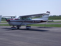N70256 @ I73 - cessna 172 parked at the ramp - by christian maurer