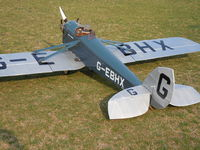 G-EBHX - Model 1/3 scale by Giacomo Mazzari - by Giacomo Mazzar