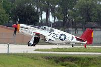 N1204 @ FA08 - 1944 North American P-51C, c/n: 103-26385 at Fantasy of Flight Museum