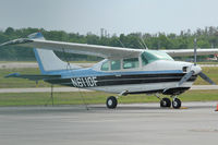 N6110F @ ISM - 1968 Cessna 210H, c/n: 21059010 at Kissimmee