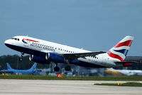 G-EUOI @ EGCC - British Airways - by Chris Hall