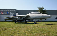 164346 @ KRIC - This 1992-build Tomcat stands guard in front of the Virginia Aviation Museum, an institution better known for its collection of Golden Age aircraft. - by Daniel L. Berek