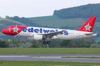 HB-IJV @ LOWW - Edelweiss - by Wolfgang Kronfuss