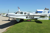 M-FOUR @ EGBK - Exhibited in the Static Park at 2012 AeroExpo at Sywell