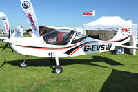 G-EVSW @ EGBK - Exhibited in the static display at 2012 AeroExpo at Sywell