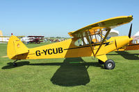 G-YCUB @ EGBK - Exhibited in the static display at 2012 AeroExpo at Sywell